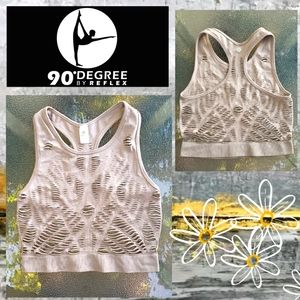 98° Degree by Reflex Cut-Out Cropped Tank